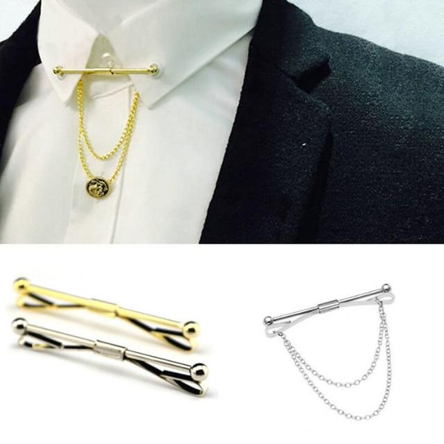 Chain Tie Tacks Men