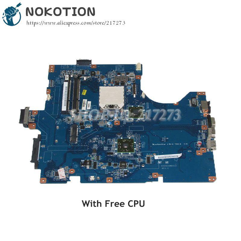 NOKOTION DA0NE8MB6C0 A1823506A MAIN BOARD For Sony VPCEF PCG-71511M PCG61611M Laptop motherboard DDR3 Socket S1 Free CPU a1734745a for sony vpcef series pcg 71511m laptop motherboard da0ne8mb6c0 ddr3 free shipping 100