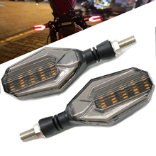 NEW Motorcycle Turn signals waterproof turn LED direction lamp motocross lights For Yamaha YZF R1 XJR1300 FZ1 FAZER FZR 600R