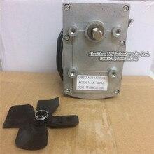 37GBT AC motor sombreado del poste motorreductores de Embalaje de La Máquina de soldadura por puntos Artesanía Cuna eléctrica AC220V 2.5 RPM 10 RPM 15 rpmın Stock ~