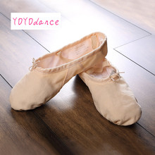 Ballet Dance Dancing Shoes Pointe For Children Kids Girls Women Soft Flats Shoes Comfortable Fitness Breathable Slippers 4702