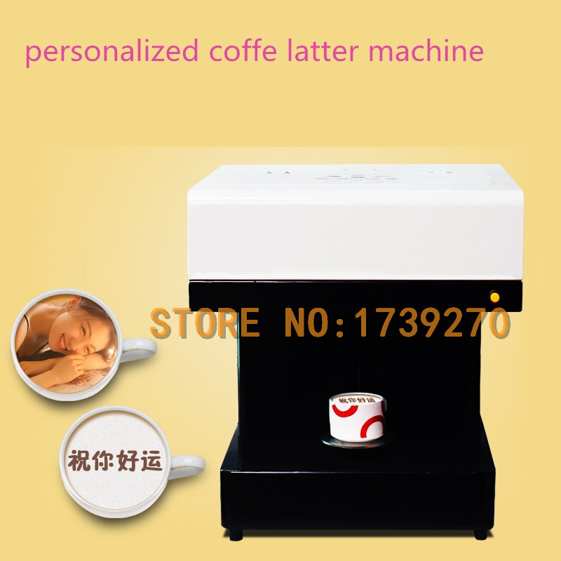 2018 hot sale Art Coffee latte Drinks Printer Food Printer Chocolate Printer with CE Certificate coffee vending machine with 8 hot drinks