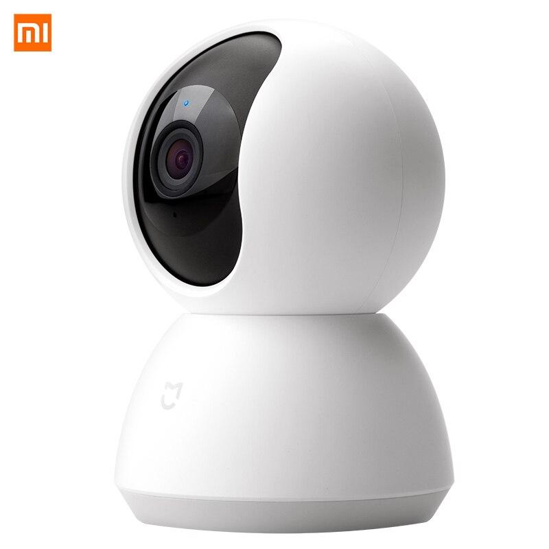 Xiao mi mi mi jia 360 caméra intelligente vidéo MJSXJ02CM Version à inclinaison panoramique caméra intelligente 1080 P WiFi caméra vidéo à Vision nocturne-in Caméra vidéo 360° from Electronique    2