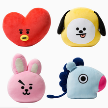 Cute Cartoon BTS BT21 Plush Doll Toy Bangtan Boys Throw Pillow Cushion Boys Throw Pillow Perfect for Sofa Home Decor,11.8x15.7''