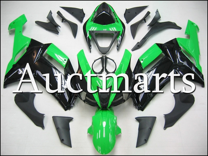 Fit for kawasaki ZX-6R 2007-2008 high quality ABS Plastic motorcycle Fairing Kit Bodywork ZX6R 07-08 ZX 6R CB13 hot sales popular cowling for zx 6r 07 08 kawasaki ninja zx636 zx 6r 636 zx6r 2007 2008 nakano body fairings injection molding