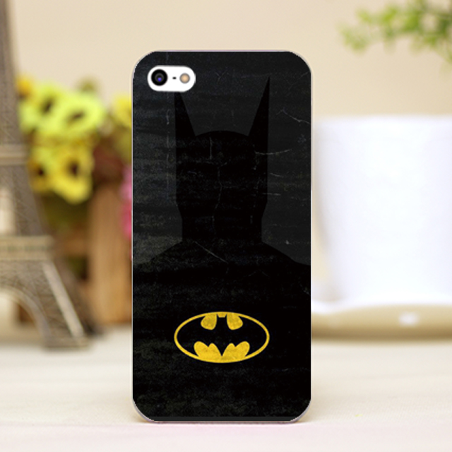 pz0095-9 For Marvel Hero Batman logo Design phone transparent cover cases for iphone 4 5 5c 5s 6 6plus Hard Shell