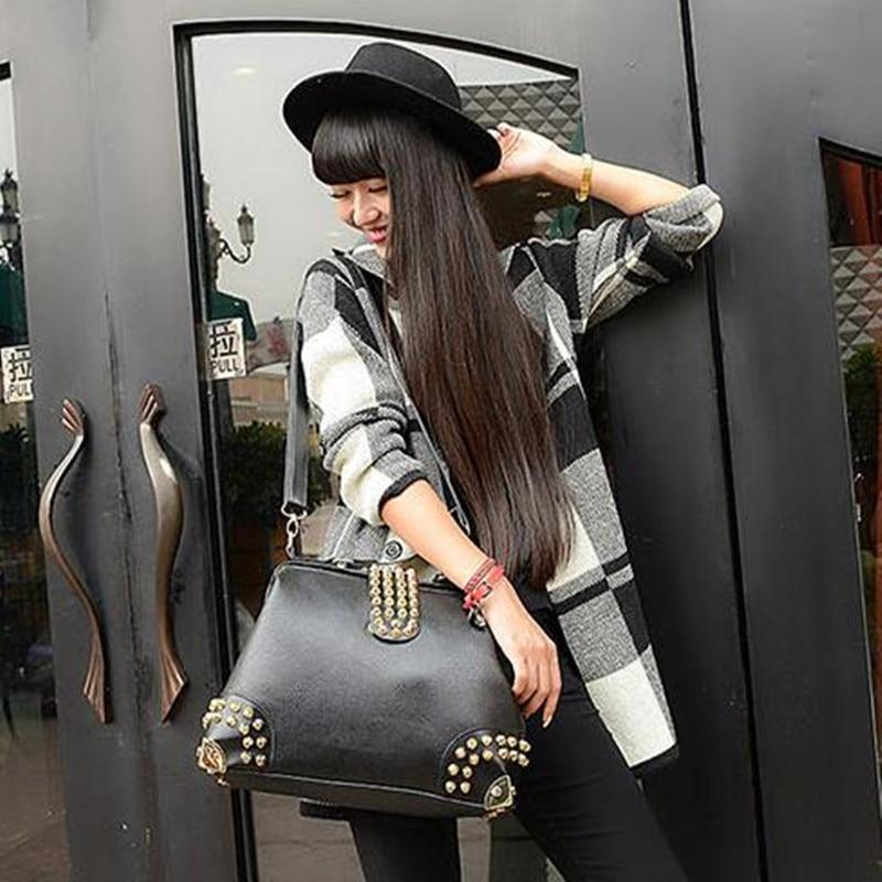 De alta calidad de la vendimia bolso de la manija superior de moda - Bolsos - foto 6