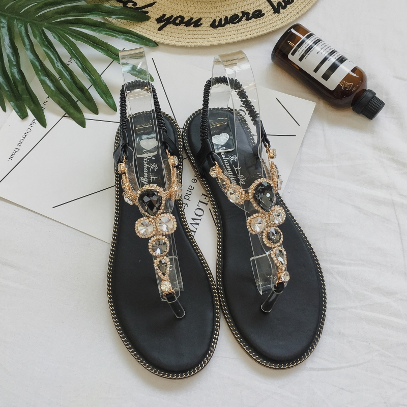 Moxxy Women Slides 2018 Fashion Slippers Platform Sandals Summer Bling Beach Slides Flip Flops Comfortable Flat Shoes Chaussure