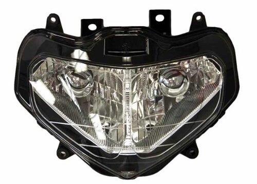 Мотоциклов передняя фара для SUZUKI GSX R1000 2001 2002 GSXR 1000 GSXR1000 K1 головной свет лампы сборки фары освещения Запчасти