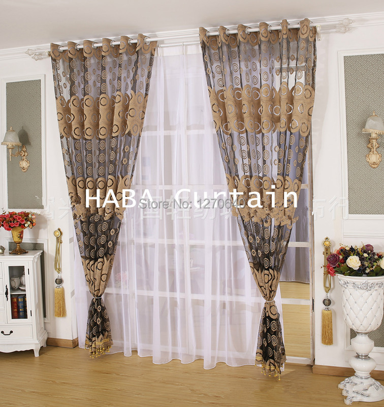 2Color Beautiful Curtain Design Ideas Tulle Voile Window Curtains ...