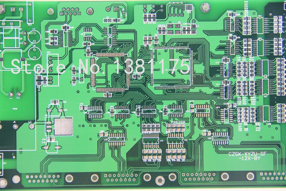 Free Shipping Low Cost Quickturn PCB Boards Prototype Manufacturer Fast PCB Sale 201805 in Double Sided PCB from Electronic Components Supplies