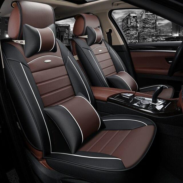 Car Seat Cover Set For Fiat Panda Marea Duster Renault Audi A3 Sportback Golf 5 Gti