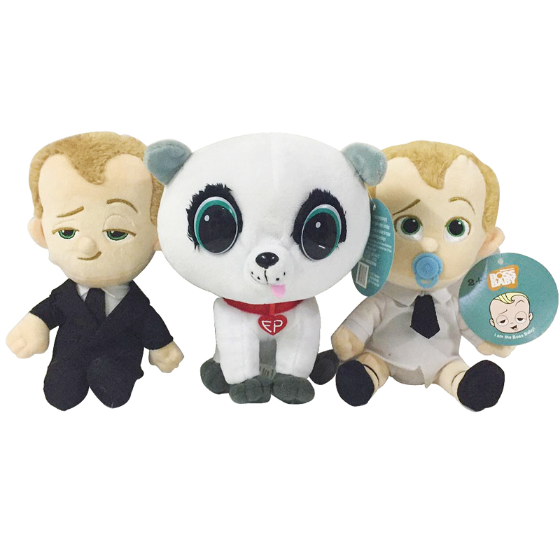 New Dreamworks Movie The Boss Baby Plush Toys Doll Suit Diaper Baby Pet Plush Stuffed Toys Soft Toy For Kids Children Gifts