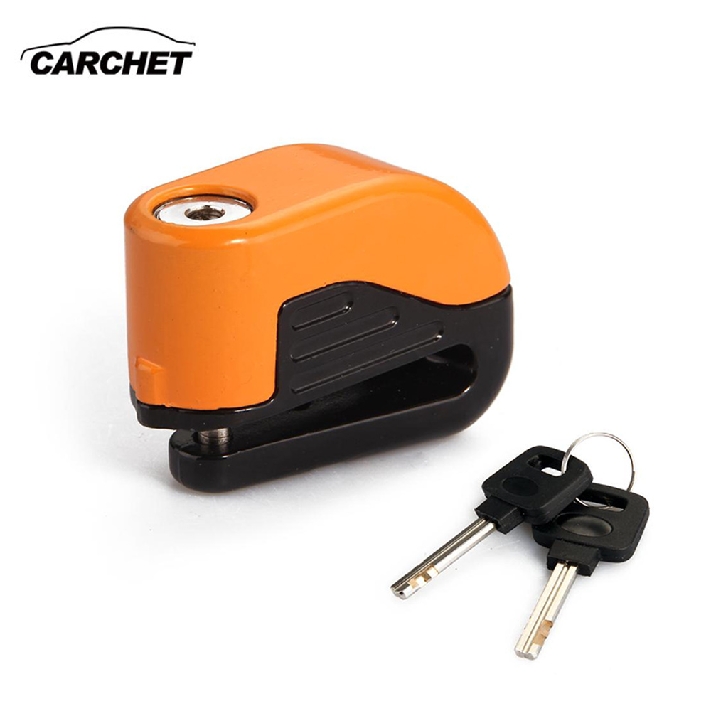 CARCHET Freno de disco de motocicleta Moto Alarma antirrobo Seguridad - Accesorios y repuestos para motocicletas