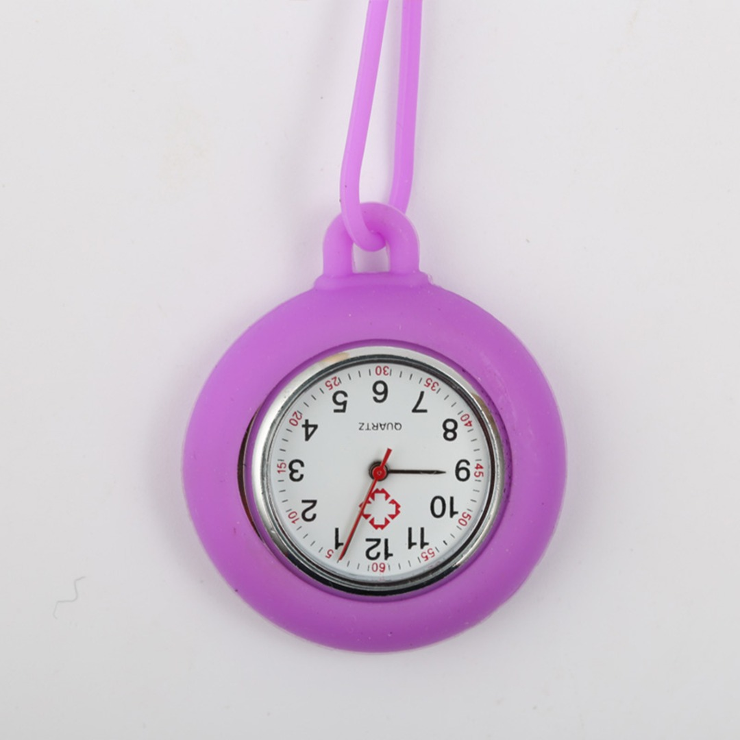 New Nurses Watches Doctor Portable Fob Watch Hanging Strap Silicone  Medical Nurse Watch Quartz Watches