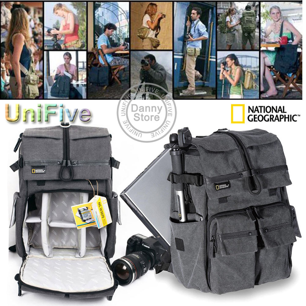8d84aa825cb Online Shop National Geographic Walkabout 5070 NGW5070 NG W5070  doubleshoulder DSLR Camera Rucksack Backpack Laptop bag for Canon Nikon  Sony