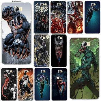 Spiderman Venom Fan Art Soft Silicon Phone Cases for Huawei P8 P9 P10 Lite Mate 10 Pro Y5 Y6 Y3 II Y7 Honor 6X 7X 9 Lite Shell feature phone