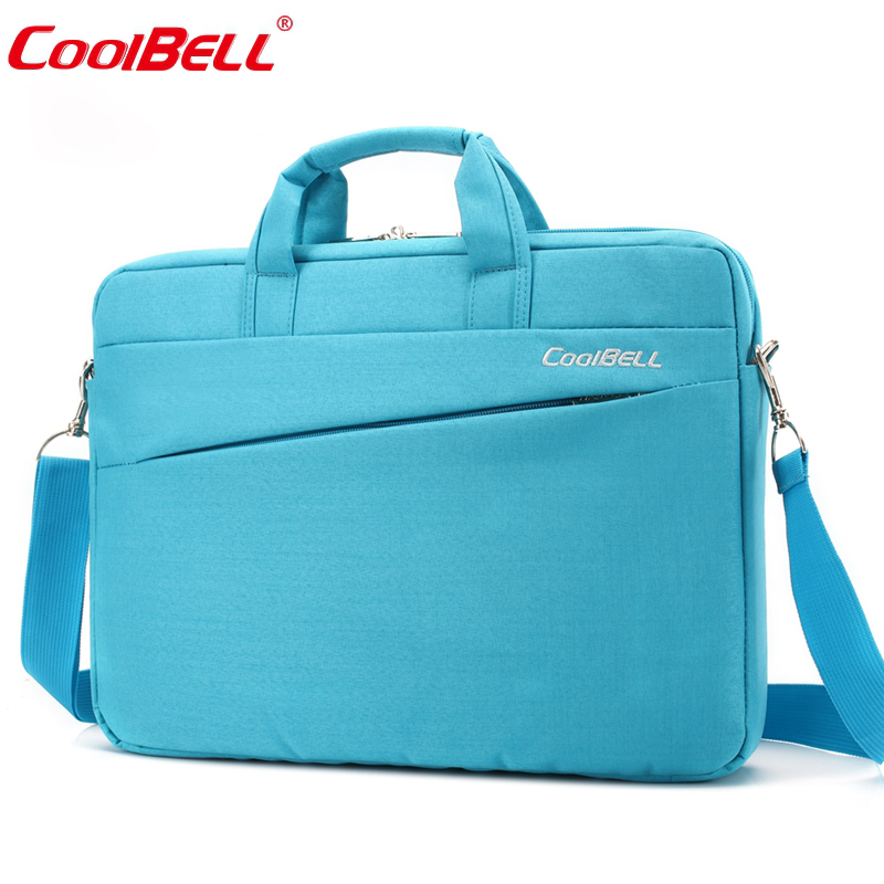 Cool Bell 12.4 13.3 14.6 15.6 inch Notebook Computer Briefcase Men Women  Laptop Bag for Apple Macbook Air Pro 12 13 14 15 b5fb23162