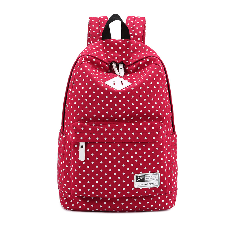 Junior High School Students Bag Shoulder Bag Backpack Canvas ...