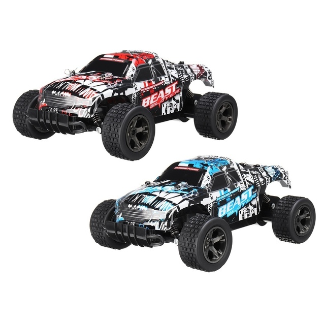 48KM/H High Speed RC Car 1:20 Electric Monster Car Off Road Vehicle Remote Control Toys for Kids 4