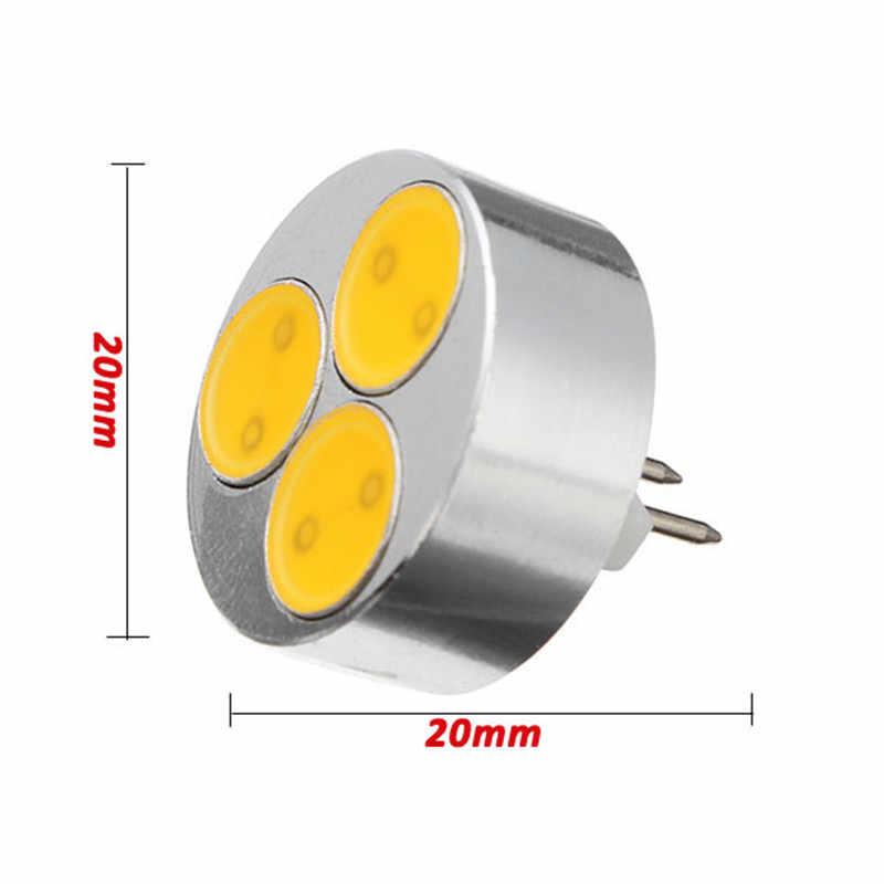 10 шт./лот высокое качество DC12V G4 Светодиодный светильник 5 Вт 3 COB чипы светодиодный лампы заменить 60 Вт светильник