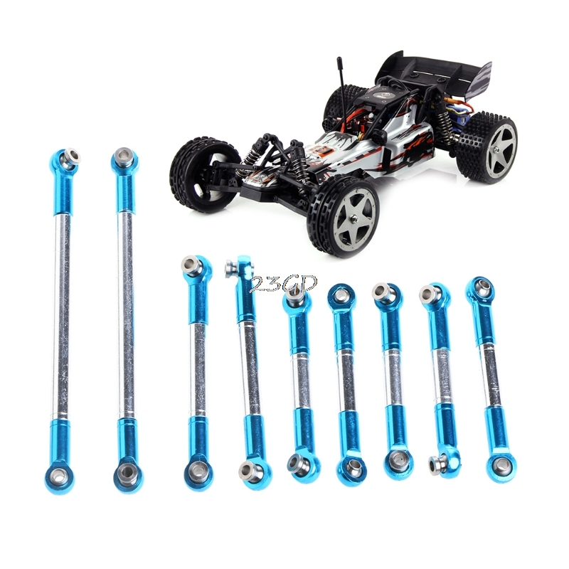 2017 Preety FY-01/FY-02/FY-03 Wltoys 12428 12423 RC Car Upgrade Link Spare Parts Metal Rod  JUN21_50 front diff gear differential gear for wltoys 12428 12423 1 12 rc car spare parts