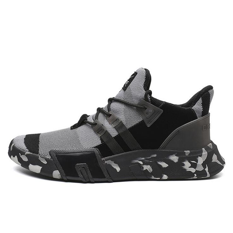 Men's Shoes Men's Vulcanize Shoes Symbol Of The Brand Mens Vulcanize Shoes Men Spring Autumn Shockproof Casual Canvas Sneakers Lace-up High Style Colors Camouflage Shallow Man Shoes