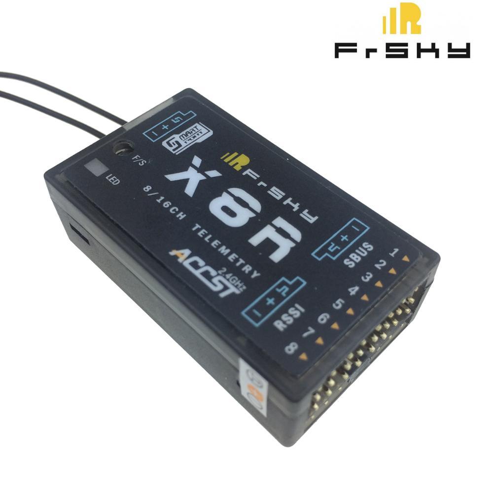 Receptor de telemetría Feiying FrSky X8R 2,4 Ghz 8/16Ch S.BUS Smart Port para Taranis Transmisor FrSky ACCST Taranis Q X7 QX7 de 2,4 GHz, 16 canales, color blanco/negro