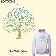 ZOTOONE  Fashion Ladies Flower Tree Patches for Girls Clothes and Tights Easy By Household Irons A-level Washable DIY T-shirts