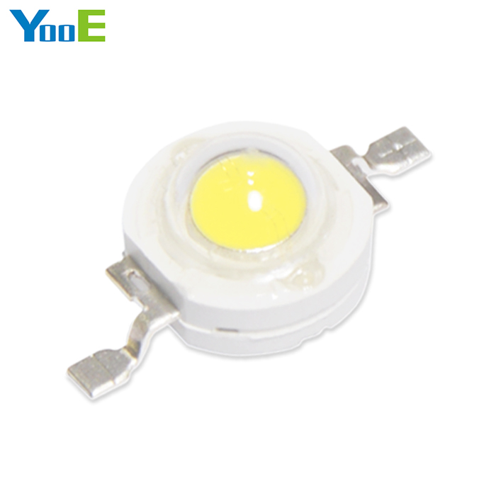YooE 20Pcs/lots DIY High Power LED Spotlight Bulb Downlight 1W light chip Diodes SMD LED lamps smd diodes set for diy project black 180 pcs
