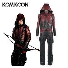 Green Arrow Season 3 Roy Harper Cosplay Red Arrow Full Set Costume Outfit Halloween Uniform Battle Suit Christmas Party Costumes