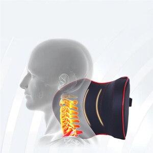 Image 5 - Appui tête de voiture, appui tête, appui tête, oreiller Auto, espace à mémoire de forme, siège de véhicule, bâche de voiture accessoires