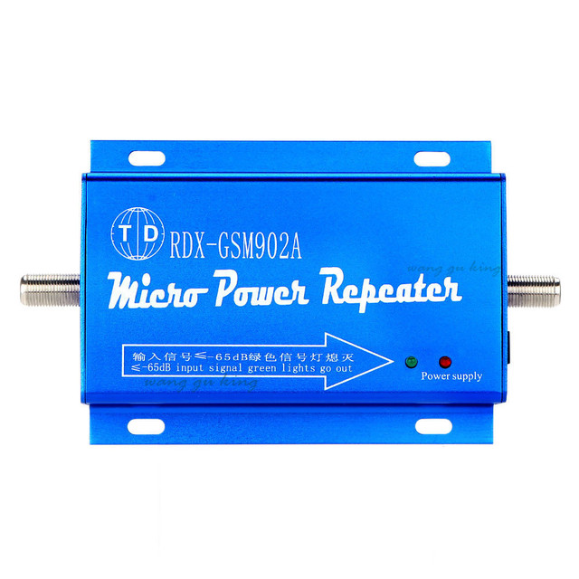 Hot sell Mini GSM 2G 900MHz Mobile Cell Phone Signal Amplifier Booster Repeater , GSM 900mhz Repeater Amplifier Wholesale