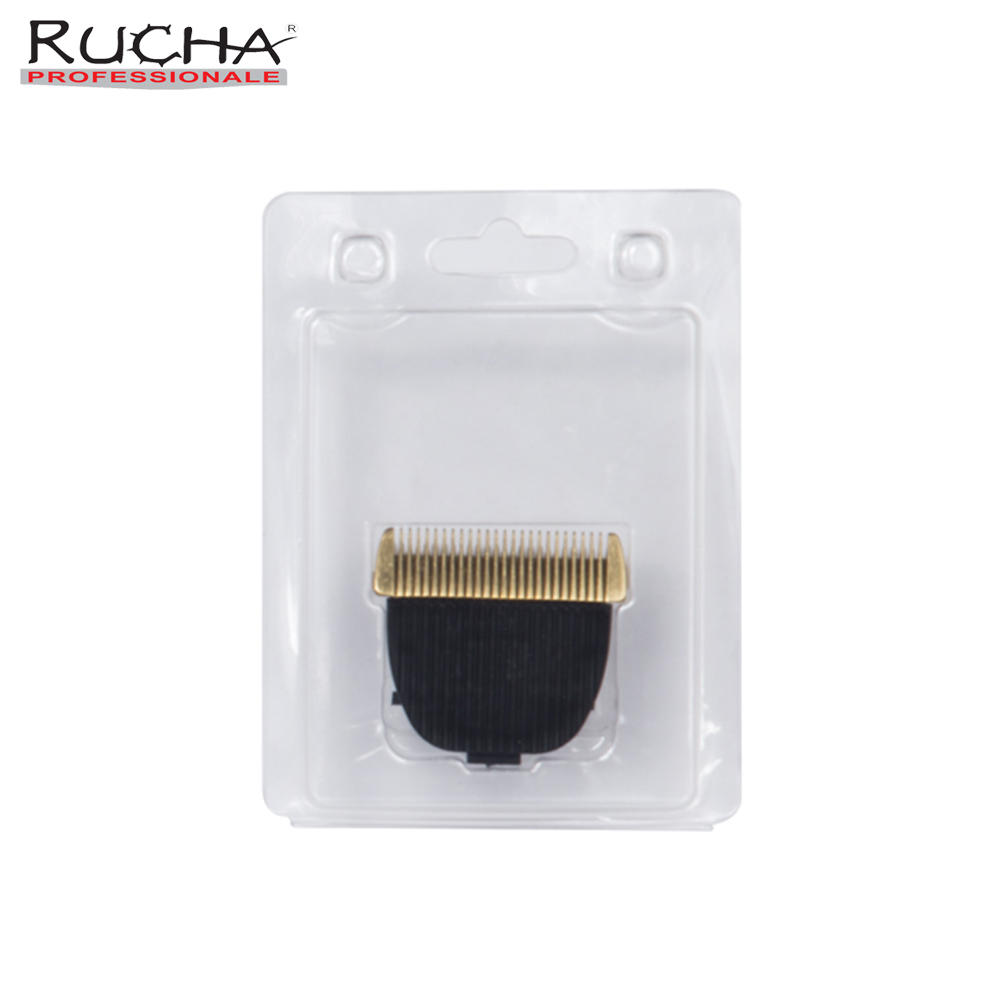 RUCHA Model T-889 Barber Electric Hair Clipper Replacement Blade Hair Trimmer Grooming Titanium Accessories Blade Head