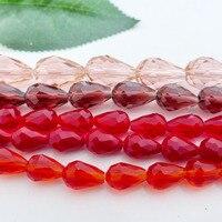 Bán buôn 6x8/8x11/10x15 mét 5500 waterdrop/teardrop crystal glass beads chất lượng hàng đầu màu sắc đặc biệt miễn phí vận chuyển-