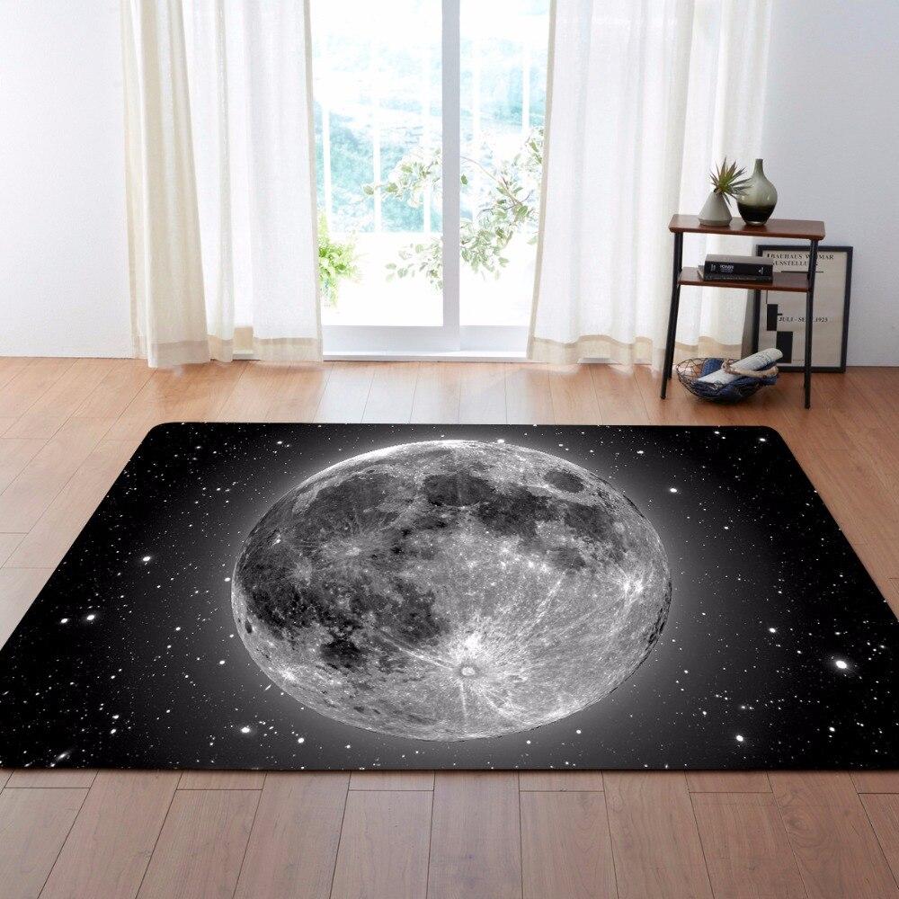 Lune espace étoile luxe Jacquard canapé chaise tapis de sol paillasson tapis pour salon tapis pour cuisine chambre en gros