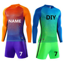 32eee0d81 New Kids Boy Soccer Jerseys Sets Survetement Football Kits Adult Men Child  Long sleeve Soccer Club