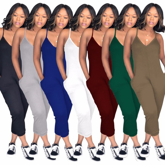 62680aceaf2 BKLD Casual Overalls Jumpsuit Plus Size 2018 Fashion Summer New Bodycon  Backless Jumpsuits Women Sexy Party Clubwear Jumpsuits