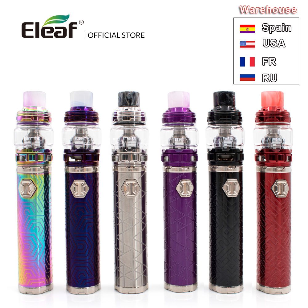 [RU/US/FR/ES] Original Eleaf iJust 3 with ELLO Duro built-in 3000mAh 6.5ml/2.0ml Tank I just 3 in HW-M/HW-N Vape Kit E-Cig