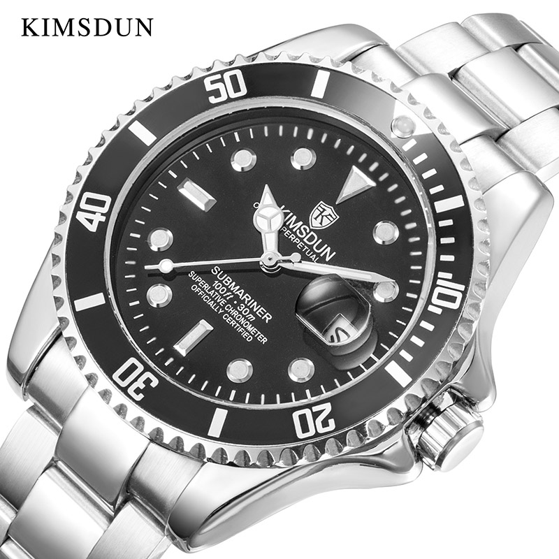 KIMSDUN Watches Mechanical-Watch Classic Automatic Luxury Brand Water-Resistant Self-Wind
