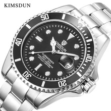 лучшая цена KIMSDUN mechanical watch men Automatic Self-Wind watches luxury brand classic 3Bar Water Resistant Reloj de hombre high quality