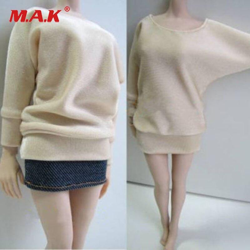 1//6 Skala Dame Jacke Mantel Gürtel für 12 /'/' Female Kumik Action Figure