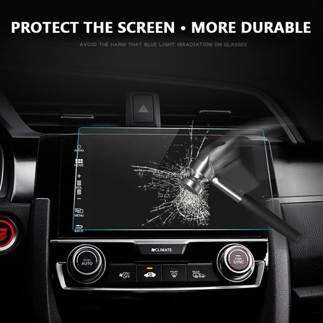 Vehemo 8 9 10 Inch Car Navigation Tempered Glass Screen Protector