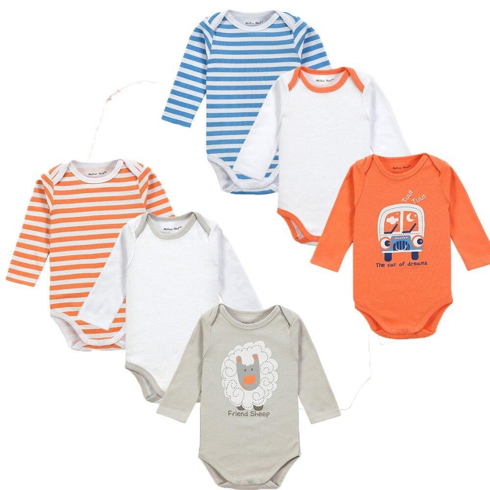 Մեծածախ 6PCS / LOT Cute Style Style Baby Boy Girl - Հագուստ նորածինների համար