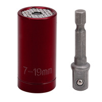 ETC 120A 7 19mm Universal Gator Socket Adapter Grip With Power Drill Adapter New