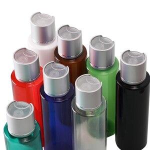 Image 5 - 50pcs 100ml 120ml 150ml พลาสติกโลชั่นขวดเงินอลูมิเนียมด้านบน Liquid SOAP TRAVEL ขนาด Personal Care สปา CON