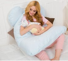 pregnancy Comfortable U type pillows Body pillow For Pregnant Women Best For Side Sleepers Removable 4 color #25