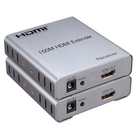 HDMI Extender 150M Via CAT5E/6 1080P Transmitter Receiver 3D For Blue Ray DVD HDTV HDPC PS3 STB PC
