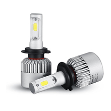 Oslamp H7 COB LED Фары Автомобиля Лампа Комплект 72 Вт 8000lm Авто передний Свет H7 Противотуманные фары Лампы 6500 К 12 В 24 В Привело Автомобильной фары