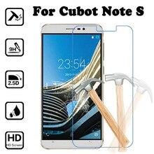 Для Cubot Note S 5,5 дюймов Премиум-защита экрана Закаленное стекло пленка 9H жесткая 2.5D для Cubot Note S NoteS защитная пленка